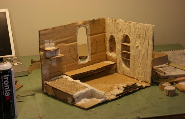 Tree house model making